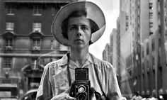This photo provided by the Estate of Vivian Maier and John Maloof Collection shows Maier in a self-portrait as she looks into a storefront wearing a hat in New York. (Photo by Vivian Maier/Estate of Vivian Maier and John Maloof Collection via AP Photo) The Nanny, Self Portrait Photography, Street Photography, Photography Composition, Photography Books, Photography Exhibition, Photography Gallery, Urban Photography, Artistic Photography