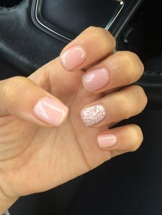 My september nails nails in 2019 unghie gel, unghie glitter, Ten Nails, Ring Finger Nails, Gelish Nails, Nails Inc, Shellac, Lace Nails, Dipped Nails, Manicure And Pedicure, Pedicure Ideas