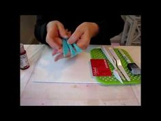 Acrylic Painting Tutorial -  Gesso Texture on canvas
