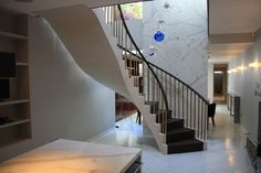 Custom helical stairs to fit your individual needs. Concrete Staircase, Concrete Steps, Concrete Floors, Polished Concrete, Sound Proofing, Stairs, Flooring, Contemporary, Building