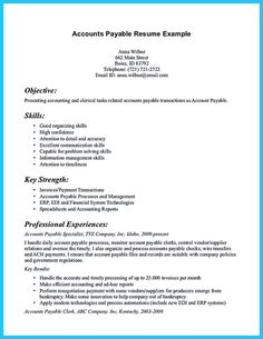 Nice Best Account Payable Resume Sample Collections, Check More At  Http://snefci