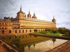 Monastery, Escorial, Madrid, Spain