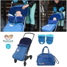 Trendy #accessories for #moms from the Spanish brand #TucTuc.  Shop now at: www.kidsandchic.com/brands/tuc-tuc-accessories  #baby #babygift #shoppingbarcelona #bebe #regalobebe #niño #babyboy #babyshowergift #footmuff #handmuffs #babybag #stroller #formoms