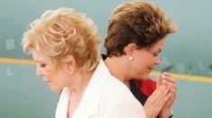 Marta Suplicy e Dilma Rousseff