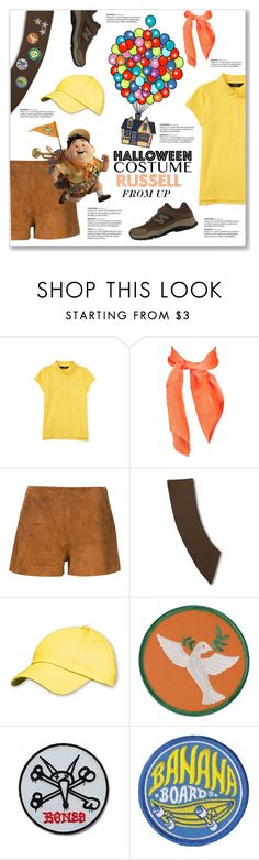 """DIY Halloween Costume: Russell from UP"" by kellylynne68 ❤ liked on Polyvore featuring rag & bone, Opening Ceremony and New Balance"