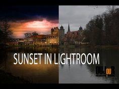 ▶ Sonnenuntergang in Lightroom erstellen, am Beispiel ( Tutorial Deutsch / German ) - YouTube
