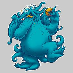 CTHOOKIE MONSTER - Chewing With The Power Of Cthulhu - Neatorama