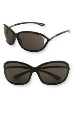 Tom Ford 'Jennifer' 61mm Oval Frame Sunglasses available at #Nordstrom I want these so bad!!