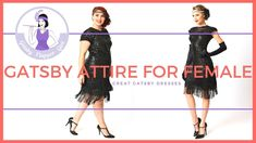 Gatsby Attire for Female 2018 [Great Gatsby Party Dresses] Great Gatsby Outfits, Great Gatsby Party Dress, Gatsby Dress Plus Size, Plus Size Dresses, Flapper Girl Costumes, Party Dresses, Girly, Female, Fashion