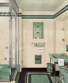 1940 Bathroom. Guest Bathroom Still Has Some Original Pieces, Hoping To  Revive