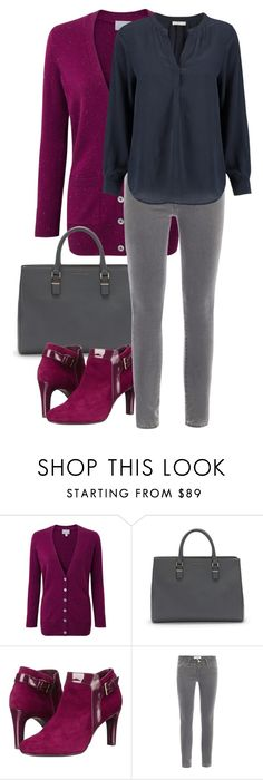 """""""Untitled 11"""" by havlova-blanka on Polyvore featuring Pure Collection, Bandolino, Frame Denim and Joie"""