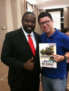 Create my vision board with Les Brown.