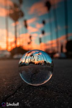 Life is better with Palm Trees. Captured with Lensball. Blur Photography, Magical Photography, Glass Photography, Artistic Photography, Creative Photography, Landscape Photography, Photography Ideas, Photo Portrait, Photo Art