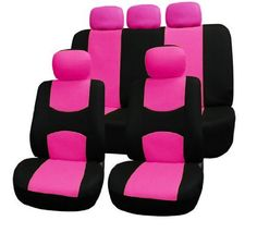 FH-FB050115 Flat Cloth Car Seat Covers Pink / Black Color by FH Group, http://www.amazon.com/dp/B009PAK7I6/ref=cm_sw_r_pi_dp_oIOmsb196XS8T