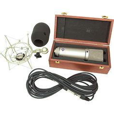 If you are after clarity and durability, then this mic is just for you! check it out! http://www.musiciansfriend.com/condenser-microphones/neumann-u87-ai-shockmount-set-z-microphone-with-box