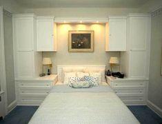 Trendy bedroom wardrobe wall built ins 50 Ideas Wardrobe Wall, Bedroom Built In Wardrobe, Bedroom Built Ins, Master Bedroom Closet, White Bedroom, Wardrobe Storage, Bedroom Storage, Wall Storage, Bedroom Small