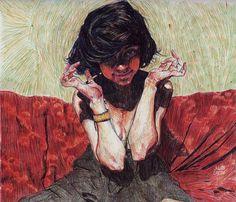 Tatiana, an art print by julian Landini - INPRNT