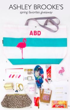 Enter to win Ashley Brooke's Spring Favorites Giveaway! http://bit.ly/1hNBQ5G