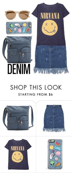 """""""Denim Set"""" by tracyroy on Polyvore featuring Yves Saint Laurent"""