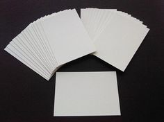 ATC ACEO Blanks for Collage Artist Trading by PickledCherryPaper, $5.50