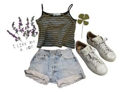 """""""untitled .12"""" by real-or-not ❤ liked on Polyvore featuring Levi's and adidas"""