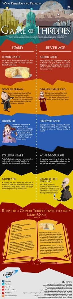Throw a Game of Thrones premiere party with these themed snacks! #GoT #GoTSeason5