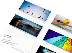 MiniCards by Moo. and you get 10% off through this link. I love my mini moo cards and always get