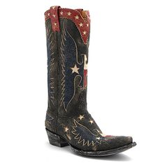 "Old Gringo 13"" Where Eagle Fly Boot at Maverick Western Wear"