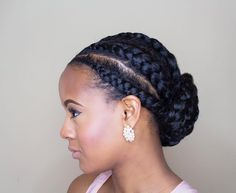 Quick protective style! These are some simple feed in cornrows that I installed and then pinned into a bun.  What protective styles are you rocking this summer?  www.chicandcoily.com • • • • • • #chicandcoily #myhaircrush  #nhdaily #hair2mesmerize #teamnatural_ #protectivestyles #kinkychicks #curlbox #berrycurly #naturallyshesdope  #naturalhairdoescare #essence #essencemag #glamourmag #chicagoblogger #chicnaturalistas #curlsunderstood  #beautyblogger #twa