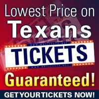 Buy Discount Houston Texans Tickets Here and Save.  We Carry Cheap Houston Texans Tickets For All Games.  Buy Texans Tickets Here.