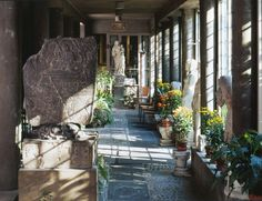 Chinese Loggia - The Isabella Stewart Gardner Museum