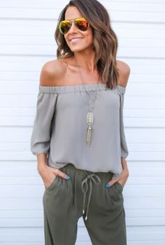 Easy style with earth tones