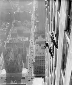 Dizzying Photos of Skyscrapers Construction in New York