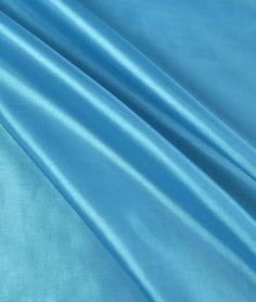 Dark Turquoise Habutae Fabric - $2.7   onlinefabricstore.net