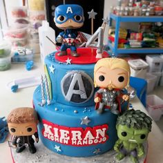 Instagram 上的 Natasha Ali • mingming:「 Cutest thing ever! Funko pop avengers! Those were real toys. And theyre too cute! Definitely fav @shendy_m ✨✨ 」
