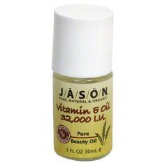 Jason Extra Strength Vitamin E Oil 32,000 IU Scar & Stretch Mark Treatment 1.1 oz