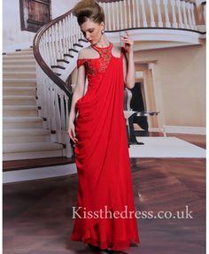 red vintage prom dre