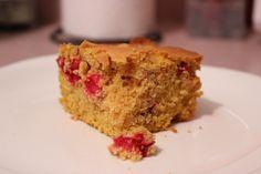 Gluten Free / Vegan Pumpkin Cranberry Corn Bread @Celeste Sherman