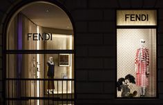The Fendi boutiques in Milan and London are getting to the holiday spirit with the new Fendi Hypnoteyes window installations.