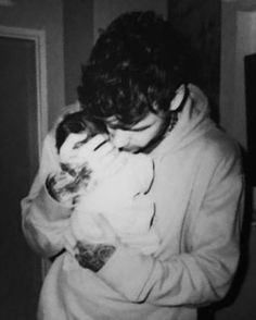 Liam and the new baby.