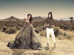 Kendall & Kylie Jenner Strike A Pose In The Desert Kylie Jenner Photoshoot, Kendall And Kylie Jenner, K Jenner, Parachute Dress, Monica Rose, Desert Design, Safari Chic, Desert Fashion, Jenner Sisters