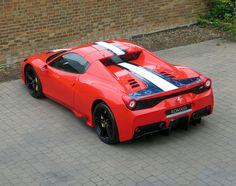 2015/15 Ferrari 458 Speciale Aperta for sale at Romans International. First RHD UK car on the market! #Ferrari #SpecialeAperta
