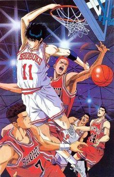 Shohoku Slam Dunk Manga Slam Dunk Anime Slam Dunk