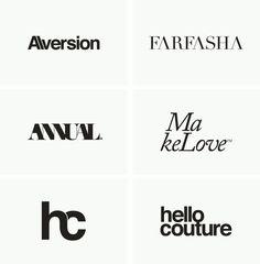 Logos / Marks / Type by Ryan Atkinson, via Behance