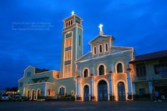 Our Lady of Manaoag Shrine, Manaoag, Pangasinan, Philippines. Church Architecture, My Town, Our Lady, Vacation Destinations, Filipino, Places Ive Been, Philippines, All Things, Beautiful Places