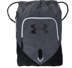 Men s Under Armour Drawstring Undeniable Sackpack - Graphite Black White   fashion  clothing 6d5b6899ea7f9