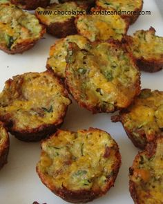 Zucchini Bites, tots, quiches. Call them whatever you want, they're delicious!