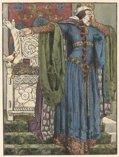 'Lady Macbeth' in Constable's Works of Shakespeare, 1901. Birmingham Central Library. By Eleanor Fortescue-Brickdale