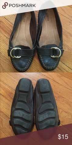 J. Crew Leather Loafers Worn but good condition J. Crew Shoes Flats & Loafers