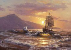 """De Michael Satarov  """"golden sail """"   ©"""